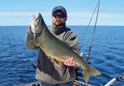 Big lake fishing that s just ducky lake superior magazine for Fish in lake superior