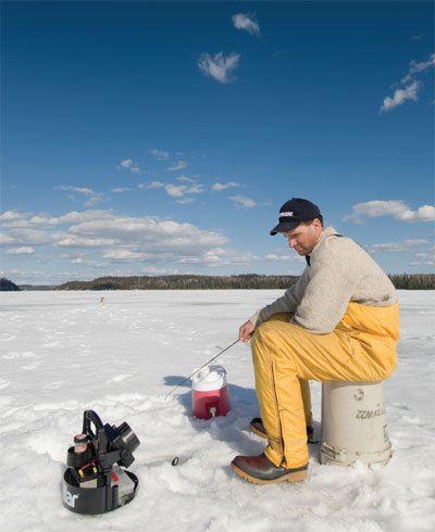 Ice fishing basics getting hooked on a winter passion for Lake superior ice fishing