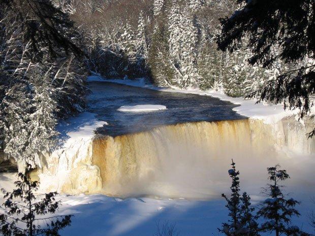 frozen motion  the upper peninsula u0026 39 s waterfalls in winter