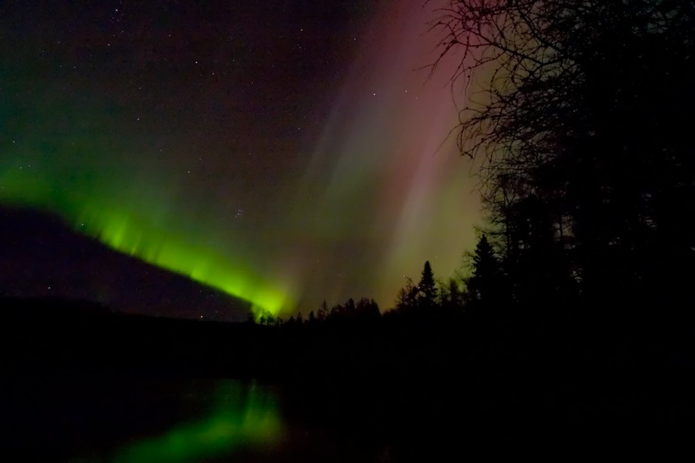 picturing the big lake  photographing the northern lights
