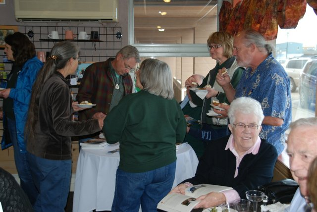 Pie Place Café Cookbook Launch in Grand Marais