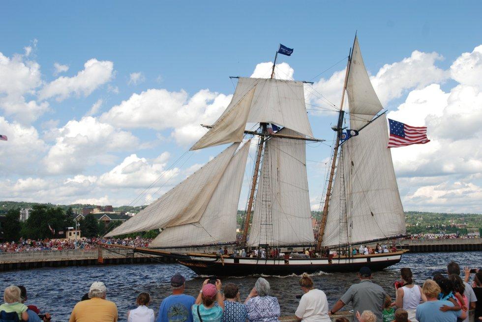 tall ships duluth 2013 parade of sail lake superior magazine