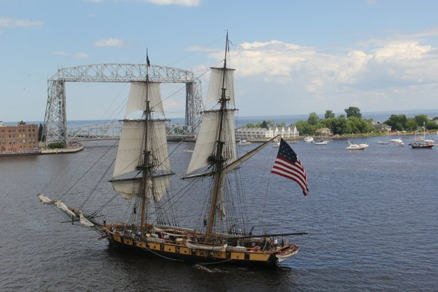 Tall Ships Duluth 2013: Parade of Sail