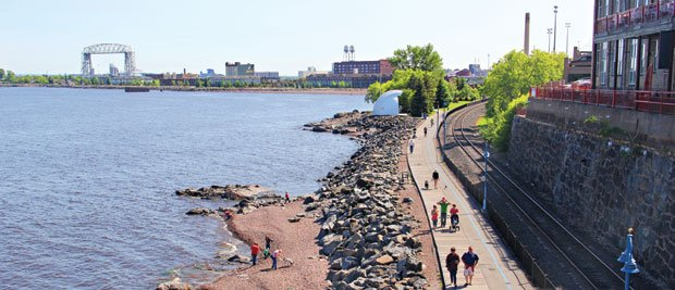 Duluth's Lakewalk