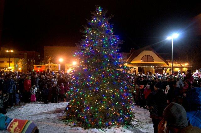 Marquette Winter Snow Fun Holiday Parade