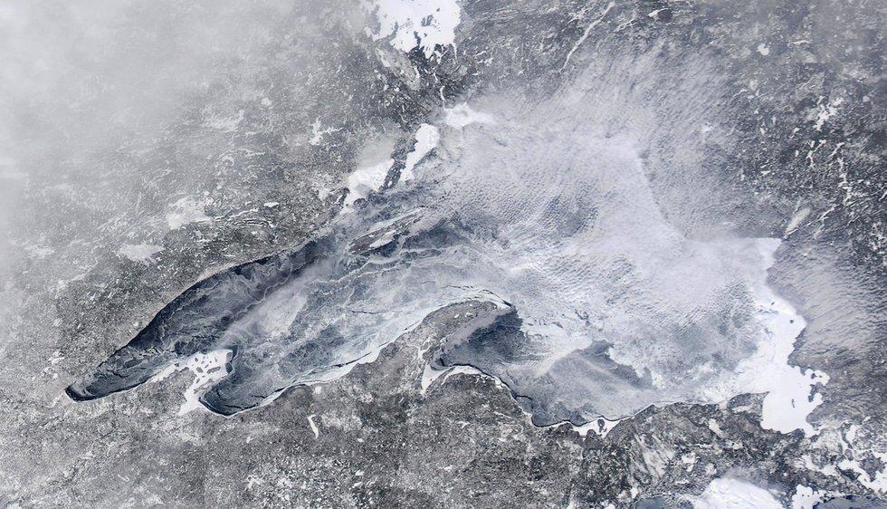 Calendar Feb : Ice cover hits percent lake superior magazine