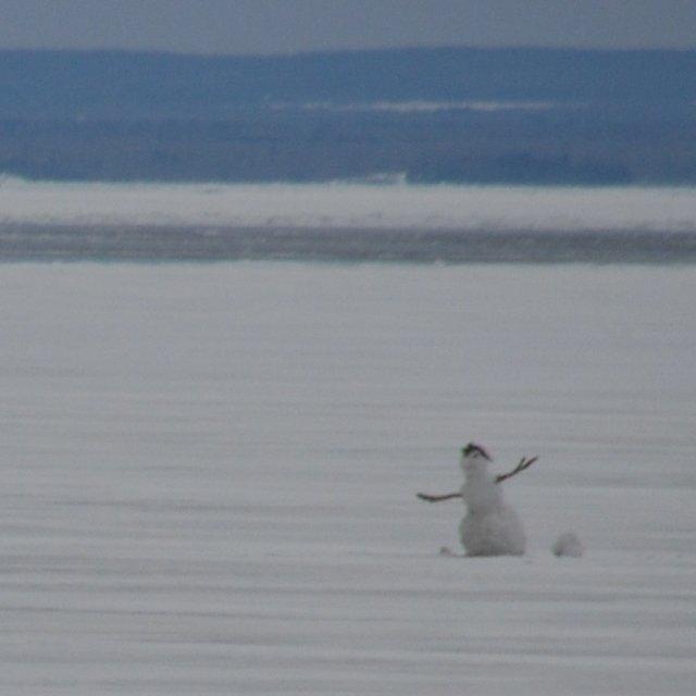 Snowman on Ice