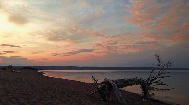 Park Point Sunset