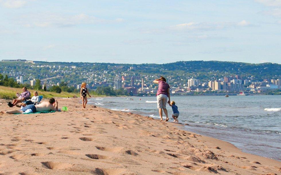 Lake Superior Park Point Beach