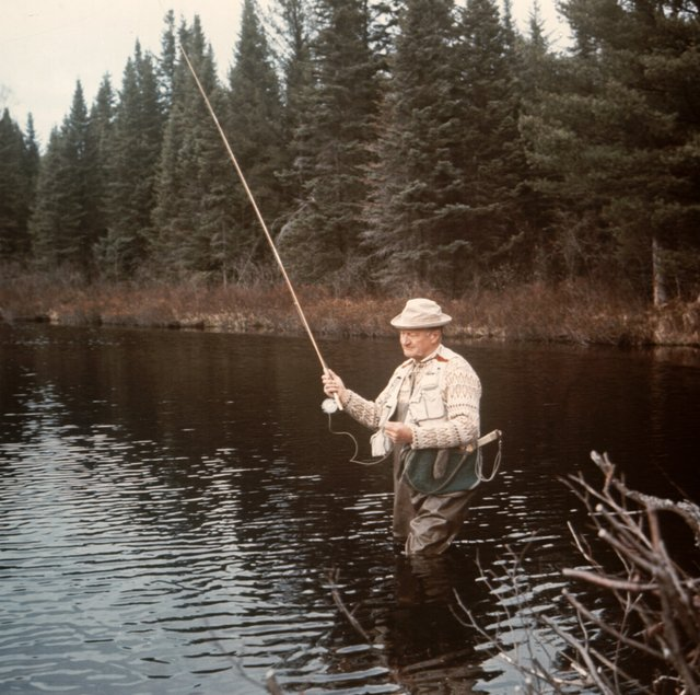 Casting a Line with a U.P. Legend