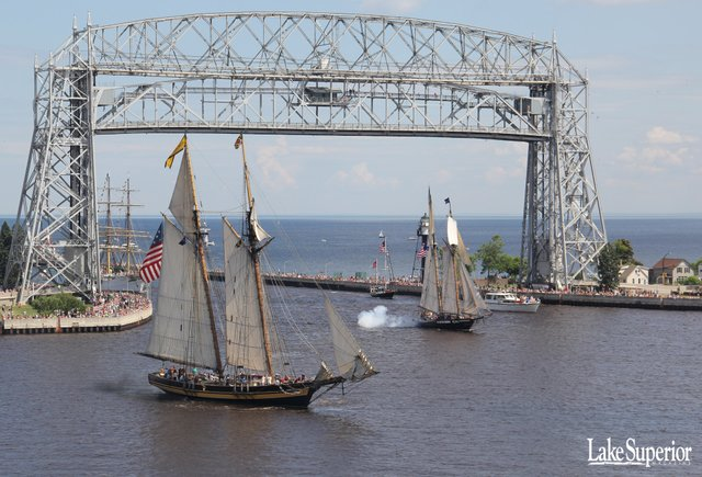 Tall Ships Duluth Wallpaper