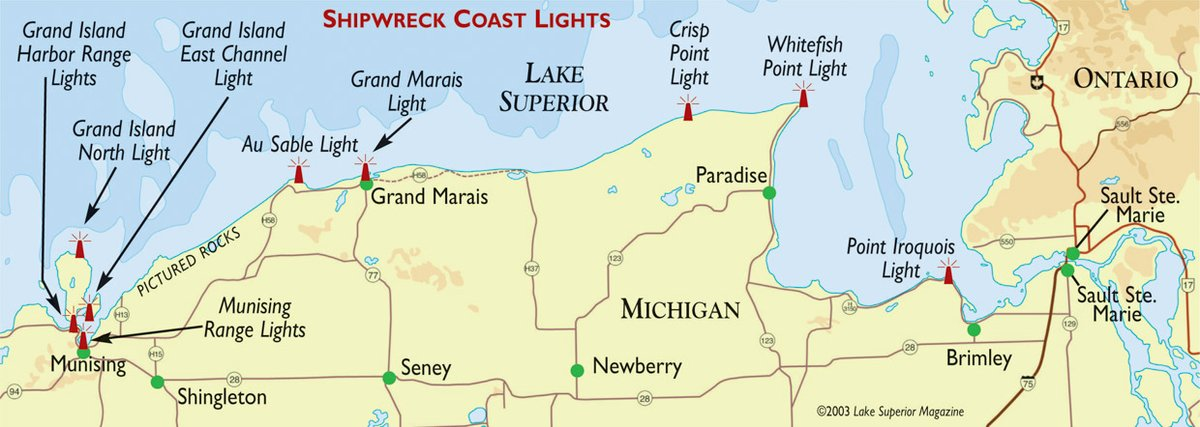 Lights of Michigan's Shipwreck Coast: Beacons on the Lonely