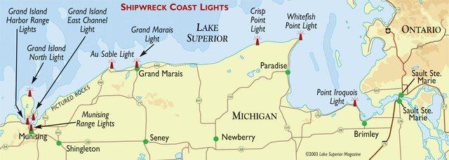 Shipwreck Coast Lights