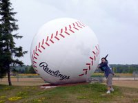 World's Largest Baseball, Sault Ste. Marie, Ontario