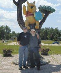 Winnie-the-Pooh Statue, White River, Ontario
