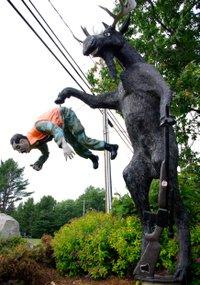 Moose Statue, Sault Ste. Marie, Ontario