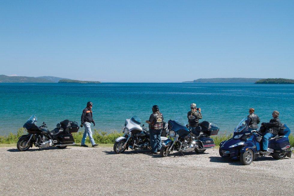 Circle Tour Lake Superior Motorcycle