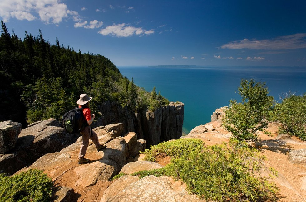 Sleeping Giant Provincial Park won Best Scenic Overlook in Ontario in the 2015 Best of the Lake.