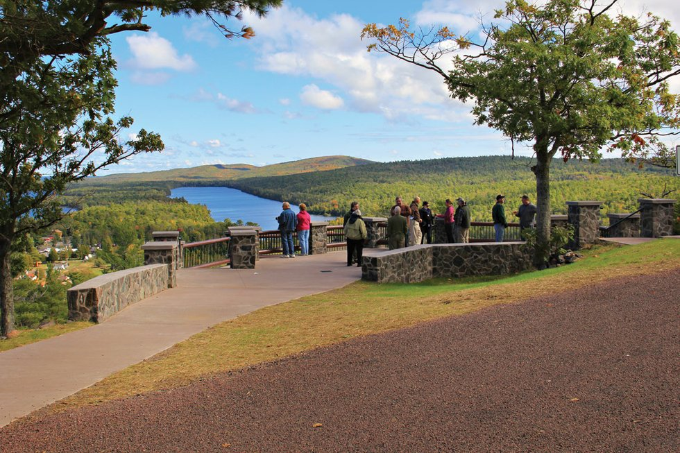 Brockway Mountain won Michigan's Best Scenic Overlook in the 2015 Best of the Lake.