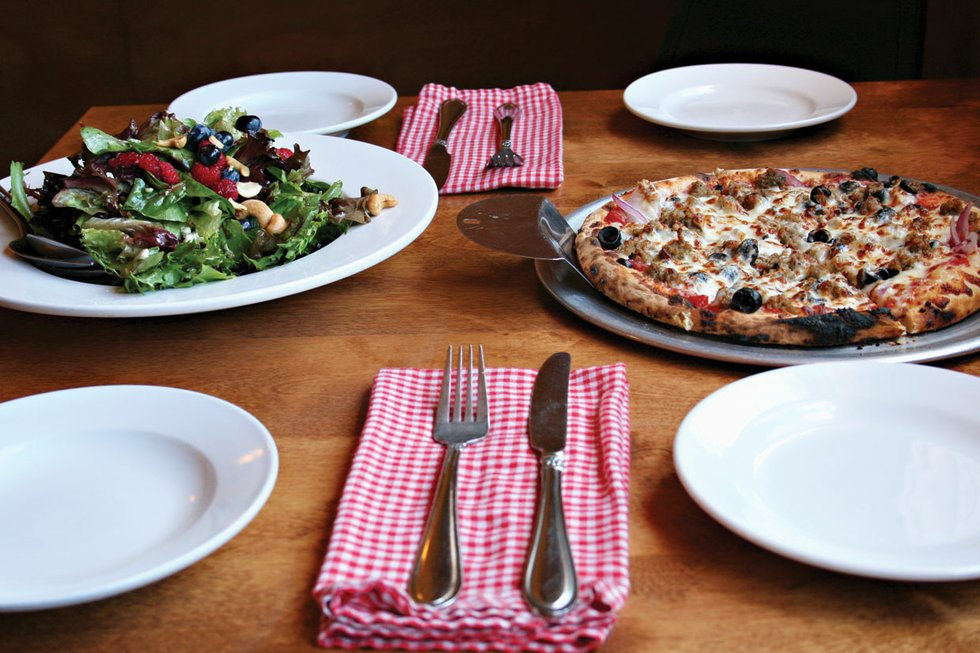 DaLou's Bistro in Washburn won Best Pizza on the Wisconsin shore in the 2015 Best of the Lake.