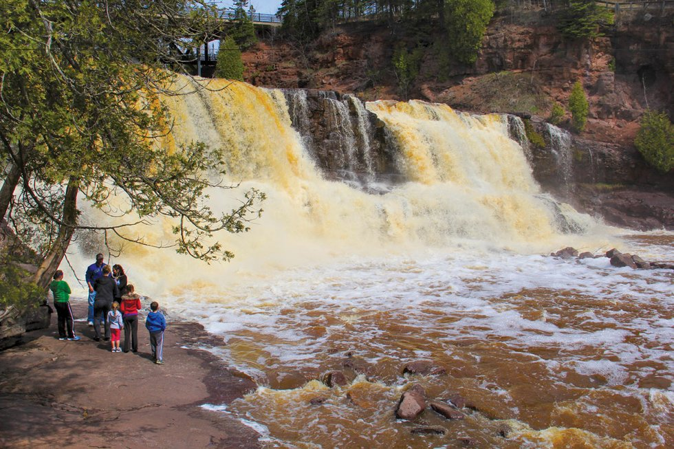 Gooseberry Falls was named Best Park on the Minnesota shore by voters in the 2015 Best of the Lake.