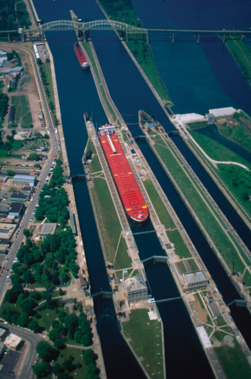 how the soo locks were made