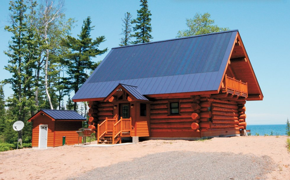 Building an off the grid home lake superior magazine for Building off the grid ana white