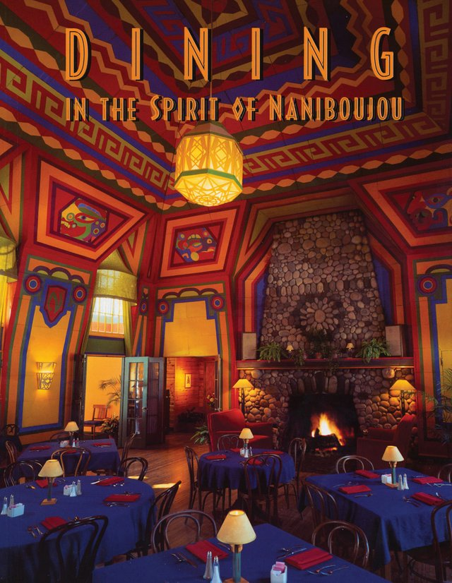 Dining in the Spirit of Naniboujou