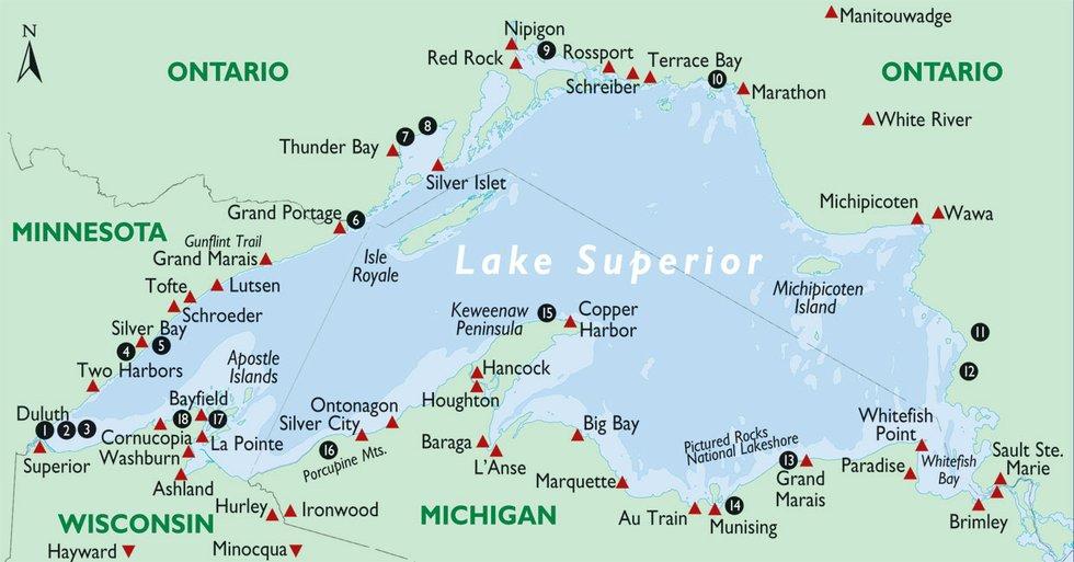 18 Lake Superior Overlooks You Should Visit Lake Superior Magazine