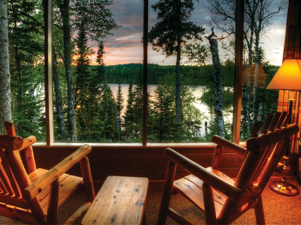 On Isle Royale, Indoor Comfort Means Rock Harbor Lodge ...