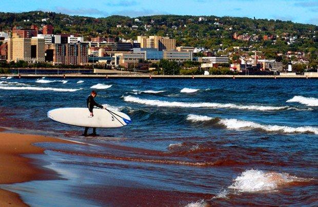 Visit Duluth - Park Point Surfing