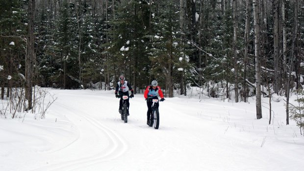 Visit Duluth - Fat Tire Bikers in Winter