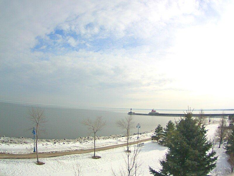Inn on Lake Superior webcam, Feb. 5, 2016
