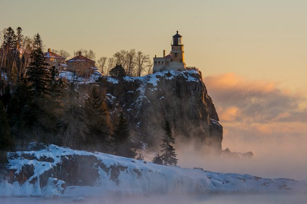 Two Harbors Area Chamber of Commerce – Split Rock in Winter
