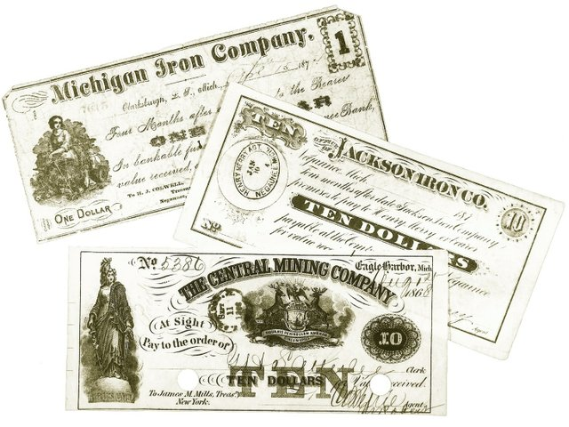 For Decades, U.P. Mines Printed Their Own Money