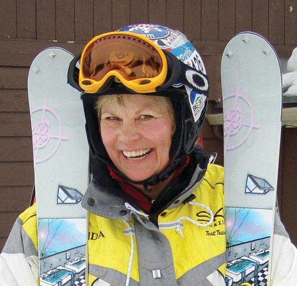 Snowsporting Mom & Son Go Global