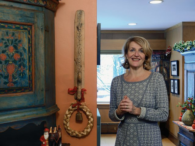 Echoes of Norway Charm an Author's Storybook Home