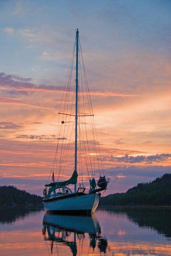 Sailing a Real Lake