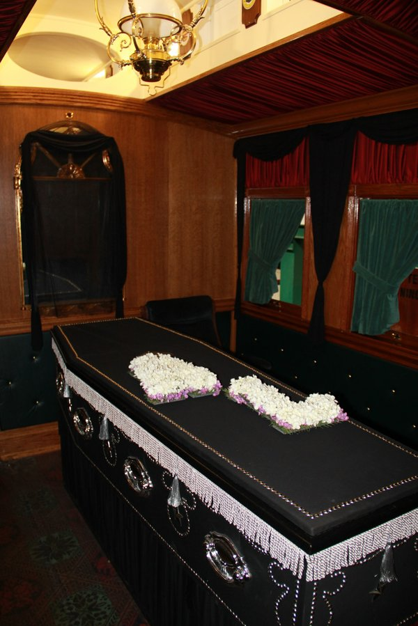 Lincoln Funeral Car