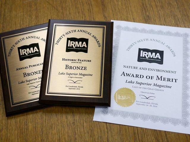 2016 IRMA Awards