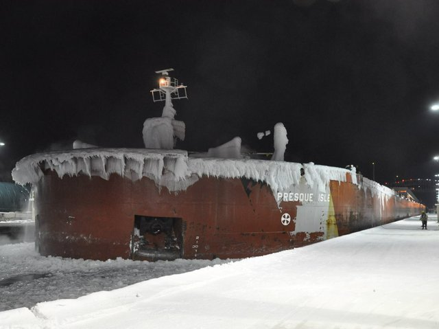 Presque Isle through the Soo Locks