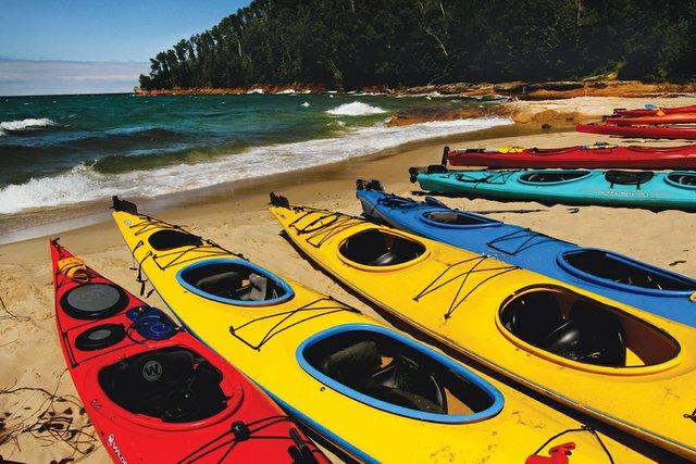 Kayaking Safely on Lake Superior - Lake Superior Magazine