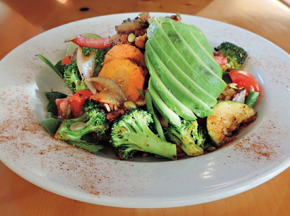Recipe Box: Vegan Veggie Scram