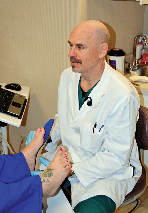 Local Podiatrist Tackles Common Problems for Runners