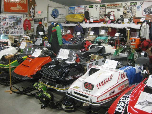 Top of the Lake Snowmobile Museum Expands