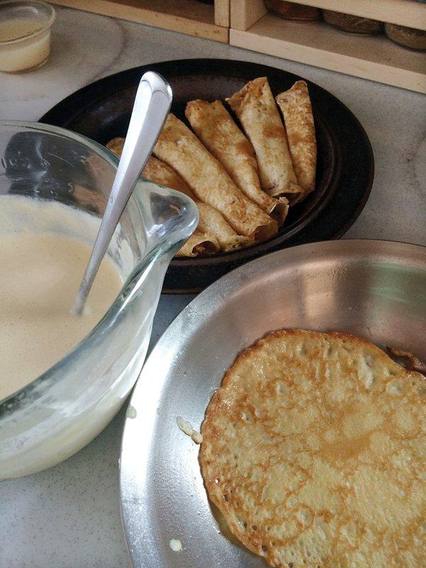 Thin Finnish Pancakes