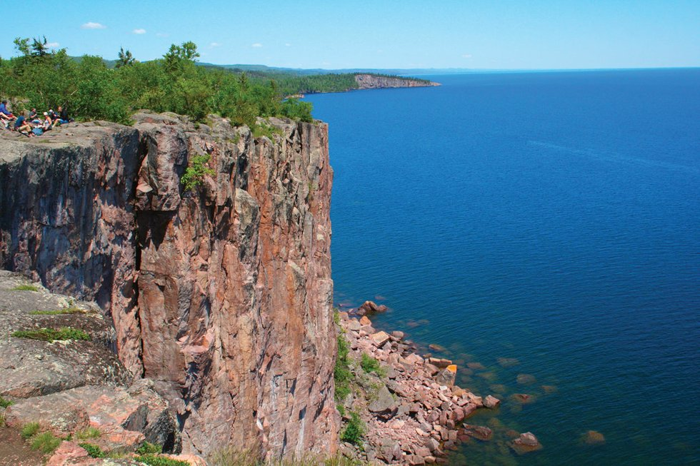 Palisade Head, Minnesota.