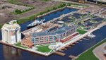 Pier B Resort – Aerial View