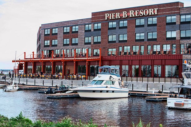 Pier B Resort – Outdoor Dining