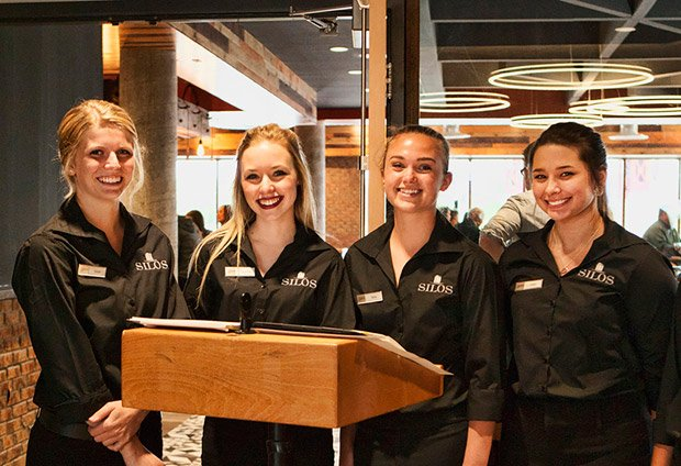 Silos Restaurant at Pier B Resort - Friendly Hostesses